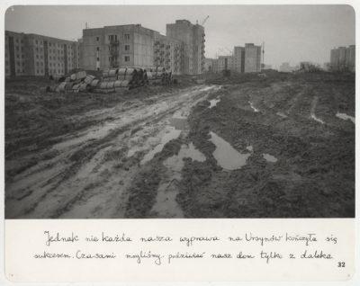 """Fotograf Mariusz Hermanowicz i jego cykl """"Mieszkanie"""". Fot. Mariusz Hermanowicz, 1978 © M. Hermanowicz / Fundacja Archeologia Fotografii"""