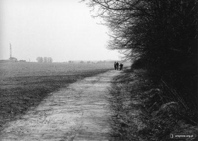 Kabaty, widok spod lasu w kierunku Moczydłowskiej. Po lewej zaczyna się właśnie usypywanie Górki Kazurki. Fot. Andrzej Kubik