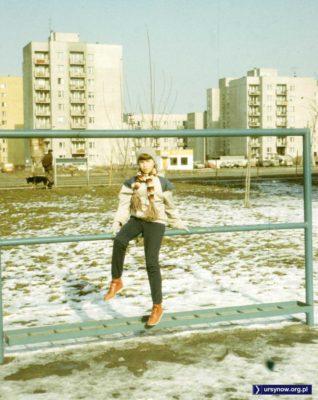 Trzepak - ten akurat na osiedlu Na Skraju - służy jak wiadomo do ćwiczeń gimnastycznych. Fot. Adam Myśliński