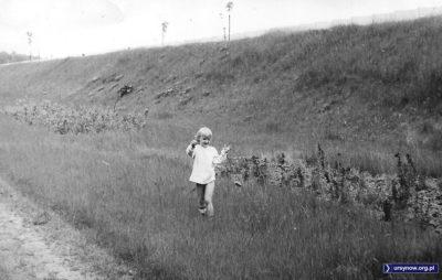 Scenka między Lasem Kabackim a wałem ziemnym odgradzającym zaplecze metra od rezerwatu. Fot. Andrzej Matuszewski