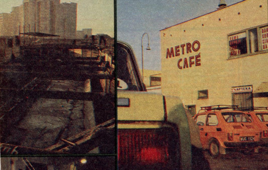 Budowa metra i słynne Cafe Metro w fotoreportażu