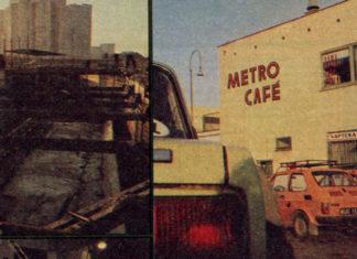"""Budowa metra i słynne Cafe Metro w fotoreportażu """"Kobiety i Życia"""" ze stycznia 1988. Fot. Zenon Żyburtowicz."""