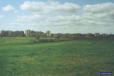 Wschodnia część osiedla Na Skraju widziana z Górki Imielińskiej zwanej też Psią Górką. Fot. Andrzej Kubik