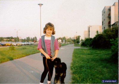 W roli jednego za wszystkich wystąpił Atos, czyli ten wesoły pies. Znaleziony zresztą też na Ursynowie, więc na Natolinie czuje się pewnie jak w domu. Nadesłała Magda Słowińska.