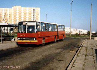 Pętla Ursynów Północny. A gdzie ten 502? Na terenie zaanektowanym potem przez norweską stację Statoil. Zdjęcie: Igor Tański, www.przegubowiec.com