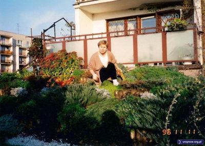 Warto zwrócić uwagę na datownik - autor tego zdjęcia z Małej Łąki po latach też nie jest pewien, czy rzeczywiście o tak późnej porze roku mogło być tak zielono.