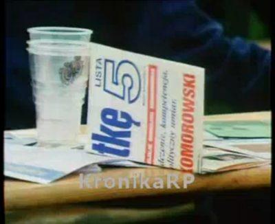 Trzy piwa za pomyślność przyszłego prezydenta! Źródło: Kronika RP
