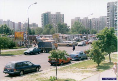 Bazar przy Cynamonowej, 6 czerwca 1998. Ostatnie chwile przed rozpoczęciem budowy Fortepianu. Fot. Andrzej Kubik