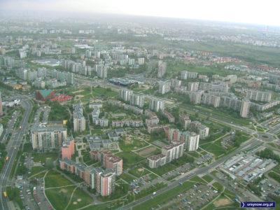 Lotnicze zdjęcie Ursynowa Południowego. W sieci znalazł je Maciej Chojecki. Szukamy autora i zakładamy, że zdjęcie pochodzi z 2004 roku.