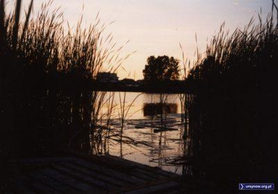 Nie, kochani. To nasze lokalne Jeziorko Imielińskie. Przystań. I podziwiaj. Fot. Maciej Mazur.