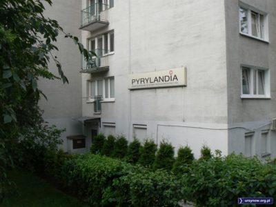 """Dawno, dawno temu w miejscu Pyrylandii na ZWM działała kawiarnia """"Oczko"""". Mała i sympatyczna. Fot. Maciej Mazur."""