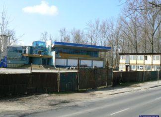 Wiele już wody upłynęło, odkąd budowa centrum rozrywkowego H2O przy Nowoursynowskiej stanęła. Fot. Maciej Mazur.