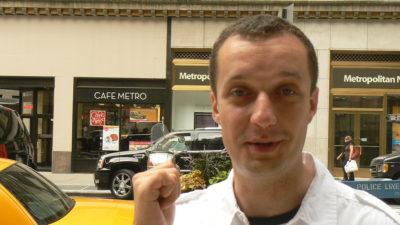 Nasi tu byli! Cafe Metro na Manhattanie. Fot. Joanna Gocławska-Mazur