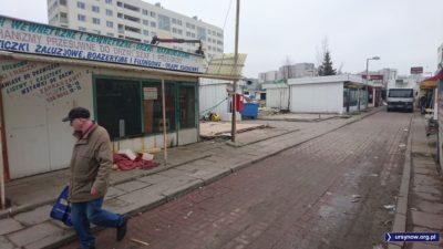 To już koniec zakupów na likwidowanym bazarku przy Braci Wagów. Głowa do góry, zaraz ruszy w nowej odsłonie! Fot. Maciej Mazur