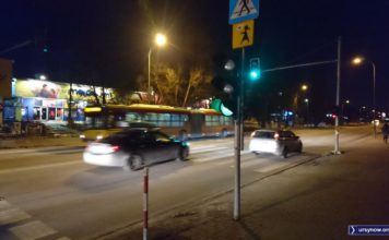 Światła przy Megasamie. Dzień i nocą od 1989 roku w służbie. Fot. Maciej Mazur
