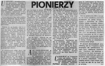 Express Wieczorny z sierpnia 1977 i kilka obrazków z życia pierwszych mieszkańców. Gdzie jest milicja?!