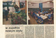 """""""Zwierciadło"""" z grudnia 1977 z wizytą w SP81 - pierwszej ursynowskiej podstawówce na Puszczyka."""
