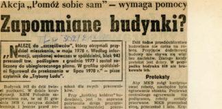 Akcja PSS okazała się niewypałem. Trybuna Ludu, 21 grudnia 1978