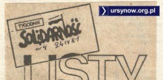 Do redakcji Tygodnika Solidarność czytelnik pisze list i pyta, dlaczego jego blok wciąż niewykończony? Skoro partia nie daje rady, to może 'S' pomoże? TySol, 04.1981.