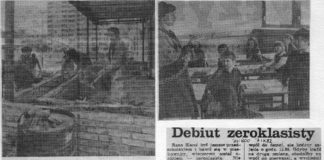 Trudne pierwsze chwile w zerówce w liście do redakcji Życia Warszawy (1982 rok). Plus Trybuna Ludu ganiąca budowlańców tym razem na Imielinie.