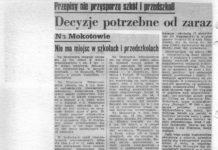 Zaczął się kolejny rok szkolny 1982/83 i co? Pyta Życie Warszawy i samo sobie odpowiada: i nic. Stara bieda.