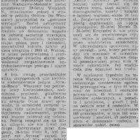 """Dramatyczny pościg za Syreną plus kradzież radiomagnetofonu z Golfa. Jeden tydzień z """"Życia Warszawy"""" z marca 1985."""
