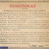 """Mieszkanka ZWM plotkuje o kosmetykach, że niby to świństwa. Trafia więc pod sąd. """"Express Wieczorny"""", 12 lipca 1985."""