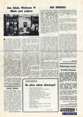 """Tygodnik """"Pasmo"""", nr 1, str. 7"""