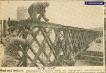"""Most nad metrem. """"Życie Warszawy"""", 9.04.1988"""