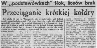 Mamy już rok 1990, idzie nowe. W szkole na Szolc-Rogozińskiego rusza eksperyment z nowym systemem oceniania opisowego. Ktoś może przez to przechodził i wie, jak się skończyło?