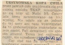 Życie Warszawy ze stycznia 1992 upomina się o niszczejący wyciąg na Kopie Cwila. Przypomina też, że jeszcze nie miał okazji ruszyć. I już mieć nie będzie.