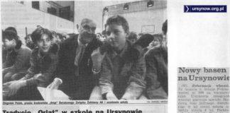 Czerwiec 1992. Z sześcioletnim opóźnieniem udało się wreszcie otworzyć basen przy szkole na Koncertowej. Pierwsza pływalnia na Ursynowie!