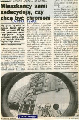 Be Cool! Życie Warszawy, 23 listopada 1993