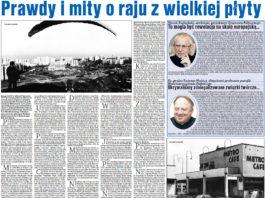 """Maciej Petruczenko, szef tygodnika """"Passa"""", wspomina początki Ursynowa. 12 stycznia 2017."""
