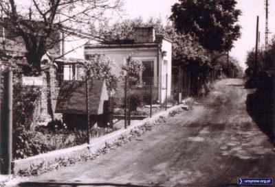 Rok 1974. Ulica Porzeczkowa, w przyszłości skrzyżowanie Artystów i KEN. Zdjęcie ze zbiorów rodziny Pytko