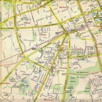 Plan PPWK z 1974 roku: Ochota i Wola. Źródło: trasbus.com