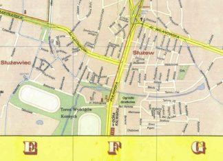 Wycinek planu PPWK z 1974 roku pokazujący jeszcze wiejskie ulice Ursynowa. Nazwy niby podobne, ale to koniec podobieństw. Źródło: trasbus.com