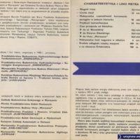 Metro gwarantuje punktualność i rytmiczność jazdy - budowy już nie bardzo. Materiał z archiwum redakcji Trasbusa.