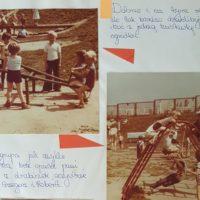 Wiosna 1982. Kronika Przedszkola nr 283 marzy o chociaż jednej huśtawce z prawdziwego zdarzenia.