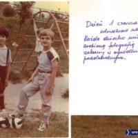 Dzień dziecka w 1988 był już zdecydowanie cieplejszy. W powietrzu czuć odwilż! Kronika Przedszkola nr 283.