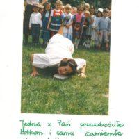 Rok 1989. Już wszystko wolno, paniom nauczycielkom też udzielił się nastrój tego wyjątkowego roku. Z kroniki Przedszkola nr 283.
