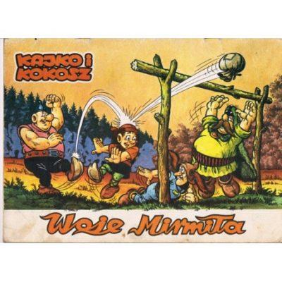 """Oryginalny zeszyt """"Woje Mirmiła"""" z serii Kajko i Kokosz. Wydany w 1988 roku."""